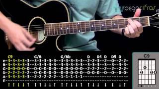 Capital Inicial - Cai a Noite (Aula de violão) -  TV Pega Cifras