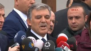 """Abdullah Gül'den KHK hakkında yeni açıklama: """"Oraya buraya çekmenin bir anlamı yok"""""""