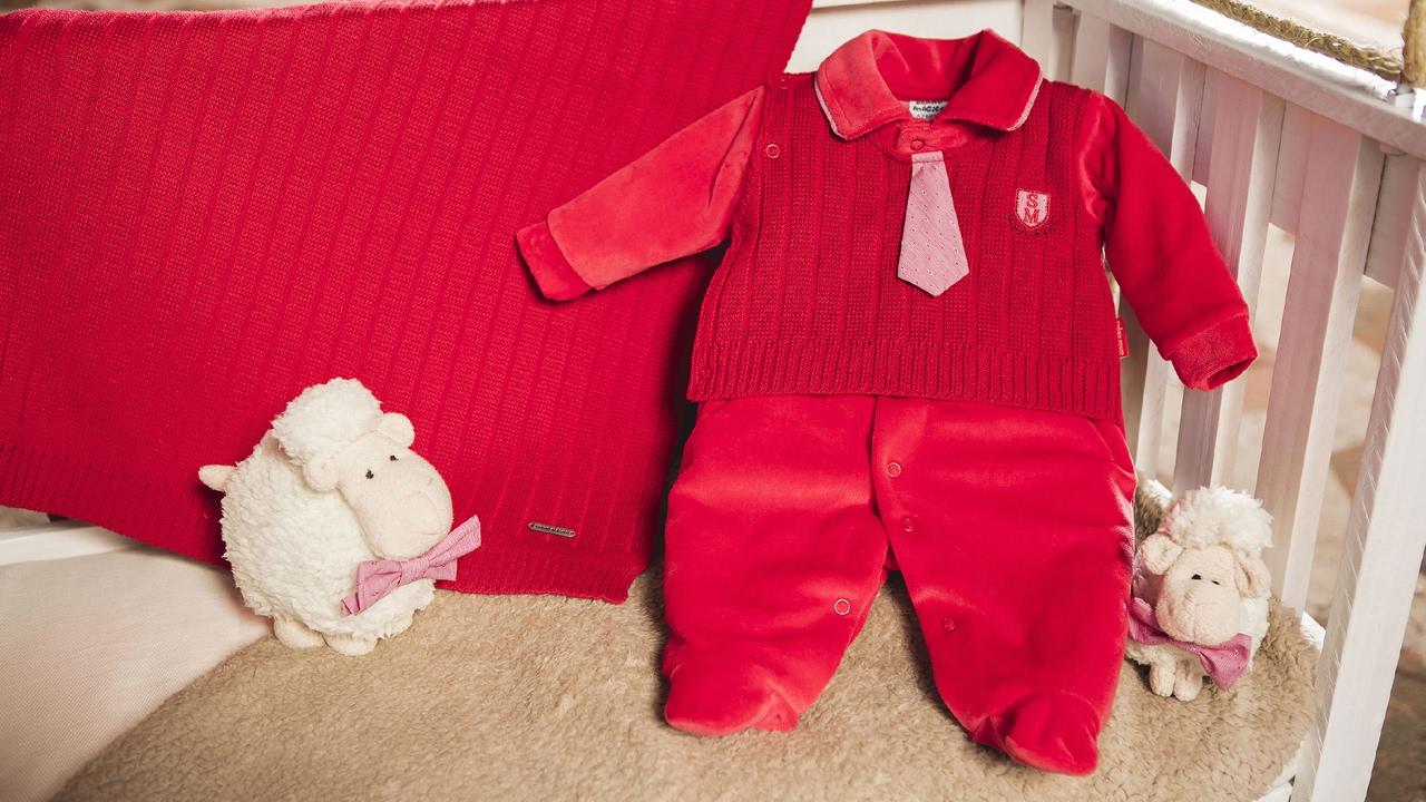 60aa94197a74a Saída de Maternidade Sonho Mágico Vermelha Masculino Tricô - YouTube