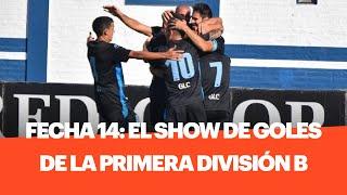 Show de goles de la 14a Fecha de la Primera División B