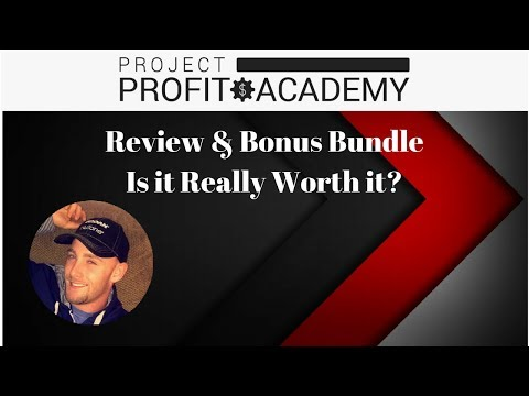 Project Profit Academy Review & Bonus (Brendan Mace)