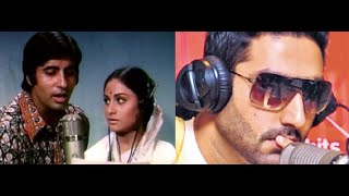 Abhishek Bachchan's All Is Well Based on Amitabh Bachchan's 1973 Film Abhimaan!