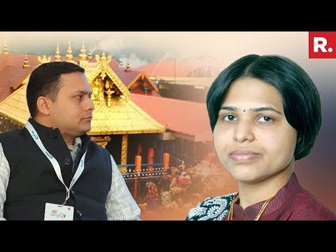 BJP IT Cell Head Amit Malviya Alleges Trupti Desai-Congress Link | #SabarimalaShowdown