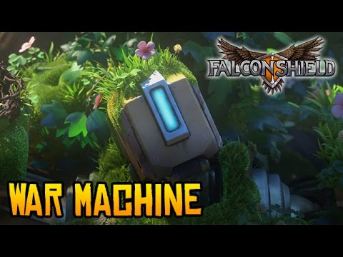 Falconshield - War Machine (Overwatch song - Bastion)
