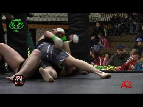 ACSLIVE.TV Presents Madmen MMA Night Of Champions Stacy Pool vs Cheryl Jacob 135