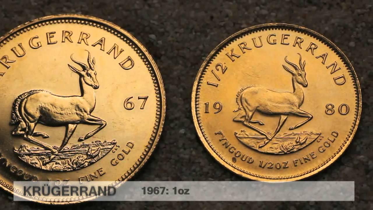 Krügerrand Goldmünze - die wohl beliebteste Anlagegoldmünze der Welt (Südafrika)