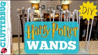 You can make these awesome DIY Harry Potter Wands for about .25 cen...