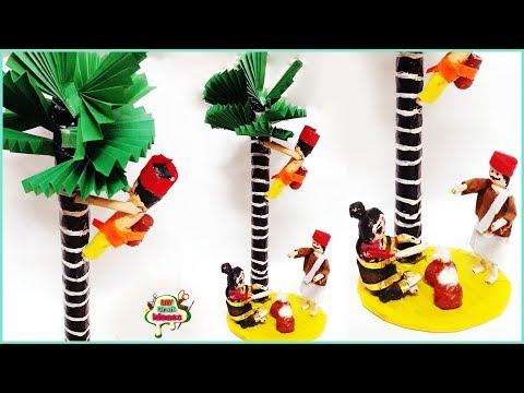 DIY / Best out of waste kondapalli dolls / Best Out Of Waste Idea / kondapalli dolls