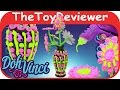 DohVinci Faux Flower Vase Kit Unboxing Toy Review by The Toy Reviewer