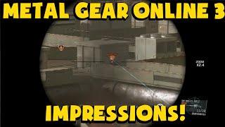 [Metal Gear Online 3] - Final Impressions / Stats!
