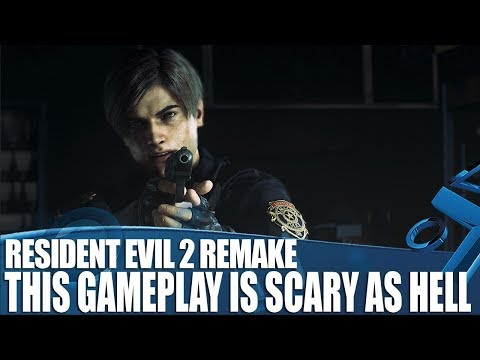 Resident Evil 2 Remake Gameplay Is Scary As Hell