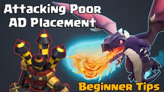 Clash of Clans | Beginner Tips - Attack Planning #2! Mass Dragon TH8 TH9 in CoC
