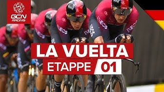 Vuelta a España 2019 Etappe 1 Highlights: Mannschaftszeitfahren