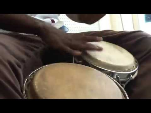 Cuban Percussion Students Jamming Havana Cuba