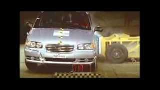 Crash test Hyundai Trajet 2003