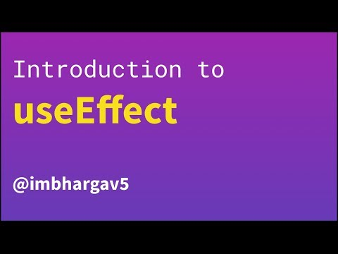 Introduction to useEffect | Daily React Hooks thumbnail