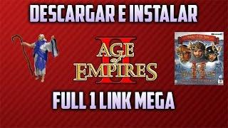 Download/Descargar e instalar Age of empires FULL (1 link) (NO ADFLY)