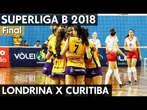 LONDRINA X CURITIBA FINAL | SUPERLIGA FEMININA B 2018