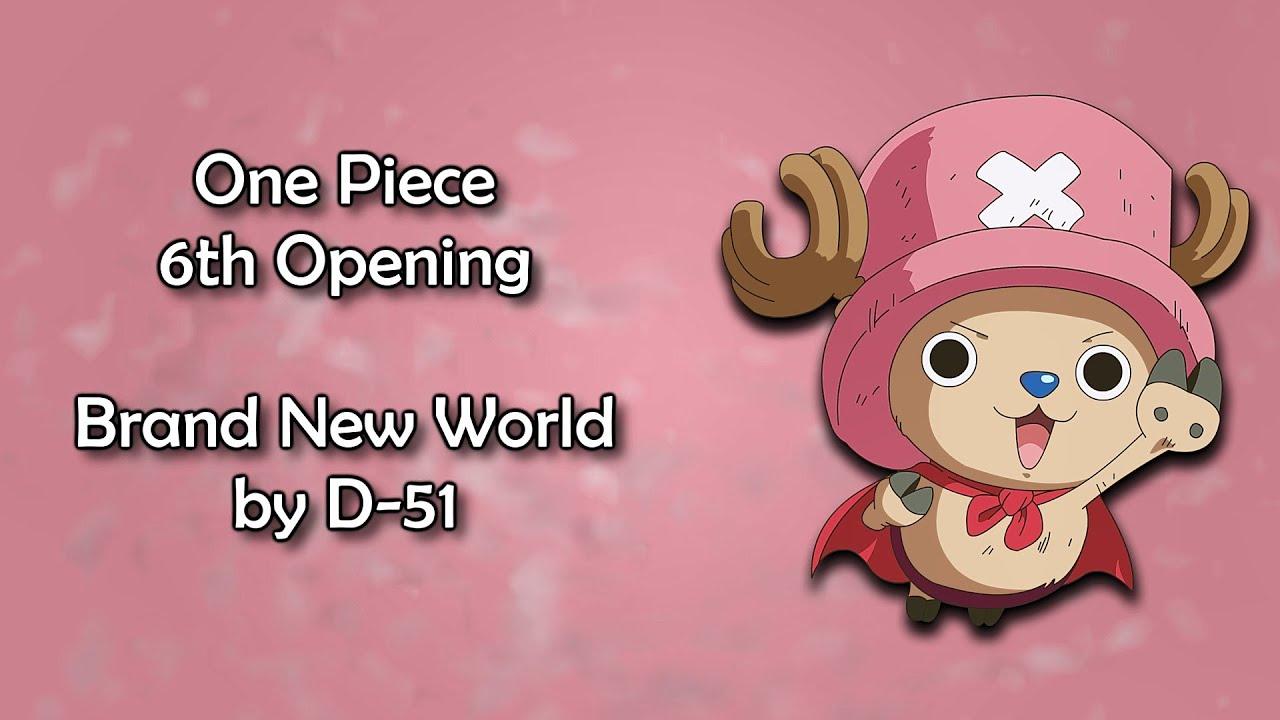 Download One Piece OP 6 - Brand New World Lyrics