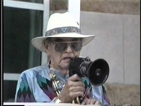 CHIEF WAHOO PROTEST..VERNON BELLECOURT..1996