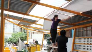INDA Design/Build Thonglor : Sun Shade Hanging 2