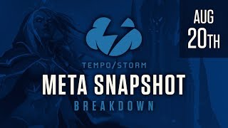 Tempo Storm Meta Snapshot Breakdown: August 20th, 2017 - Knights Of The Frozen Throne