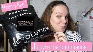 Haul Makeup Revolution : J'ouvre ma commande + Mystery Bag
