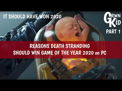 Death Stranding SHOULD WIN Game of the Year 2020 on PC! MOST Reviews LIED to YOU! Part 1 |