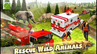 Emergency Fire Fighter Rescue Simulator - Android Gameplay FHD