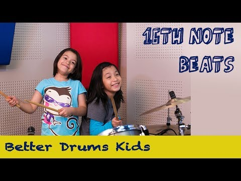 16th Note Beats - Better Drums Kids #6