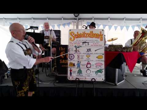 Schnitzelbank with The Gootmon Sauerkraut Band /OKTOBERFEST