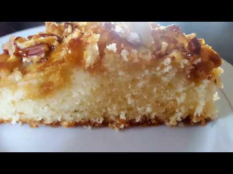 gâteau-au-yaourt-et-aux-pommes-كعكة-الزبادي-والتفاح