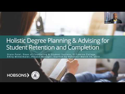 Holistic Degree Planning  Advising for Student Retention and