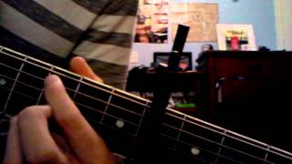 How to play, you found me, by the fray on guitar