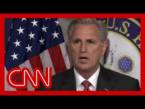 'I was shocked': McCarthy on Cheney accepting position from Pelosi