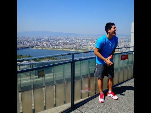 Trip to Osaka: Last Day - Umeda Sky Tower and Osaka Castle (Vlog #19)