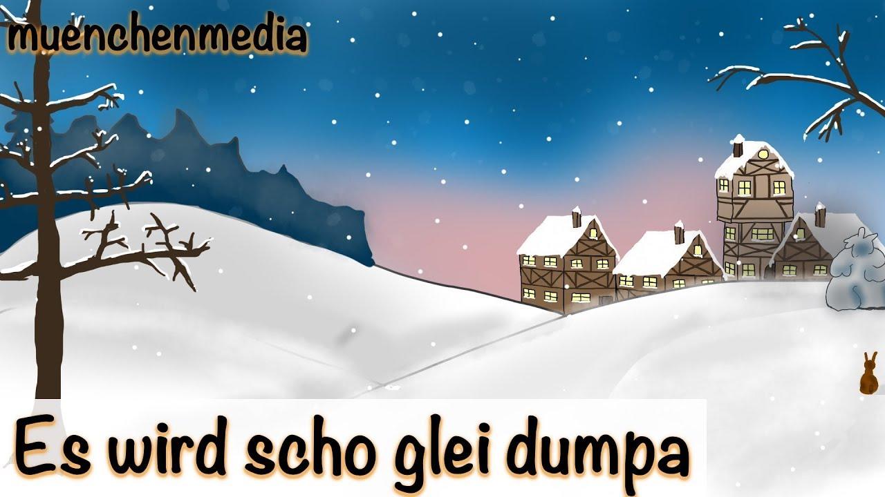 es wird scho glei dumpa weihnachtslieder deutsch. Black Bedroom Furniture Sets. Home Design Ideas