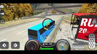 City Coach Bus Simulator 2021 - PvP Free Bus Games Android GamePlay NHK Games Pro screenshot 5