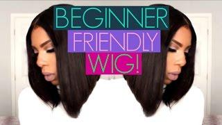 WIGS FOR BEGINNERS! Tutorial MYFIRSTWIG.COM Mignon mfb004 bob wig!