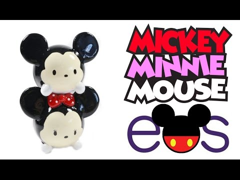 How to DIY Mickey Minnie Tsum Tsum EOS Lip Balm Tutorial ft. TheHollyCopter