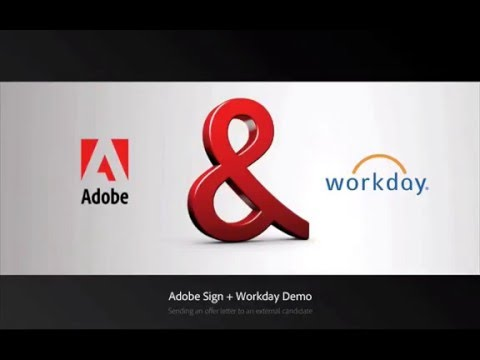 Adobe Sign and Workday Integration — Recruiting