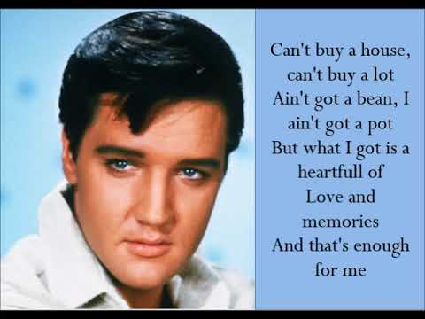 Poor Boy - Elvis Presley - (Lyrics)