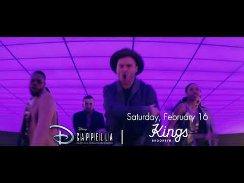 DCappella brings the magic of Disney music to life at Kings Theatre on Feb. 16