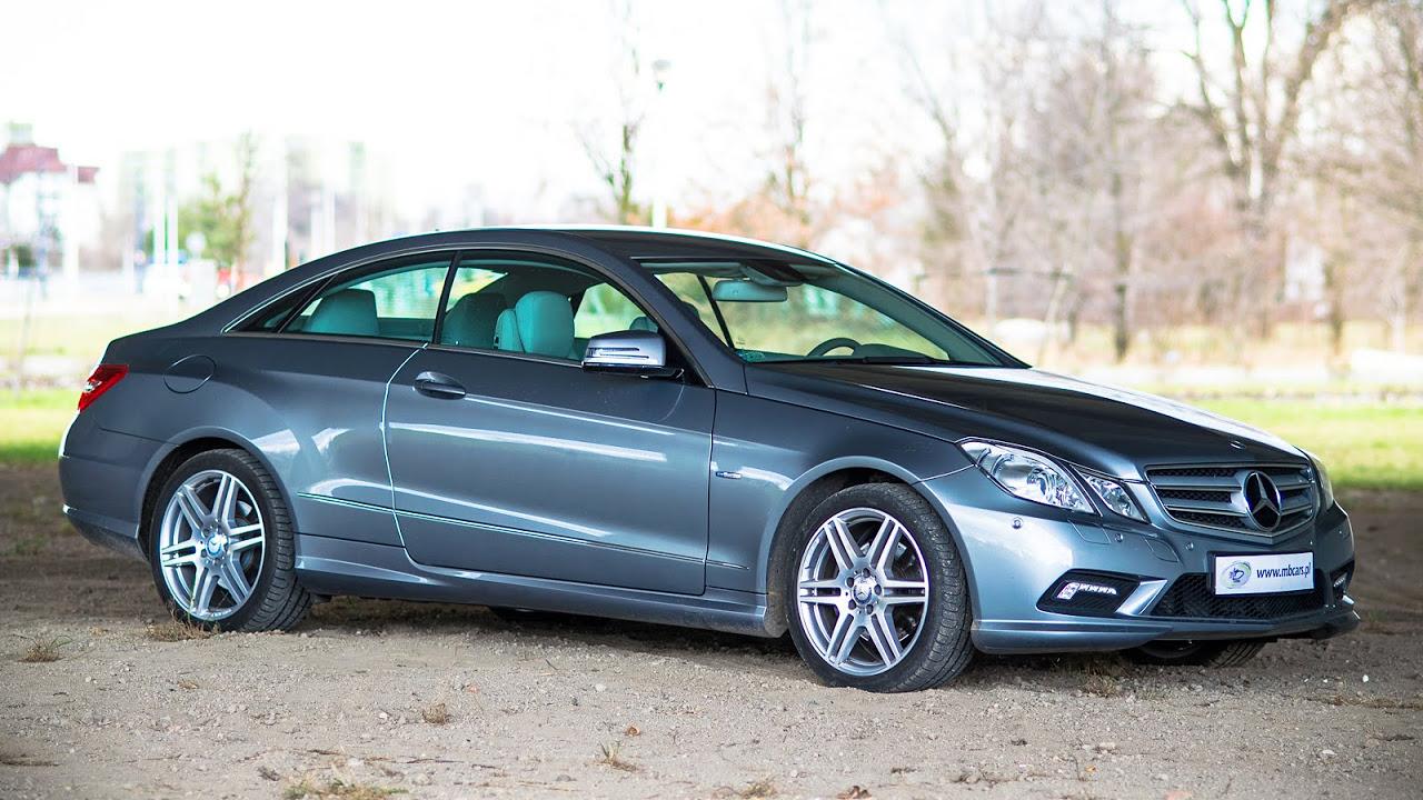 Mercedes E350 Coupe - test   AUTOMOCJE