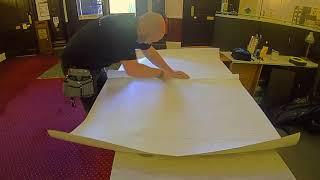 Vinyl Wrap Reception Desk Refurbishment, Architectural Films by WRAPT