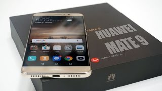 Huawei Mate 9 - Unboxing & Hands On Impressions!