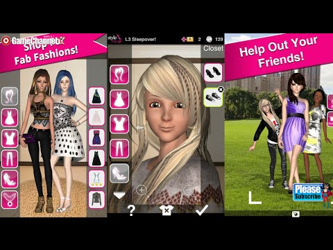 Style Me Girl Free 3d Dressup Android Os Free Game Gameplay V Deo 3d Fashion Game Youtube