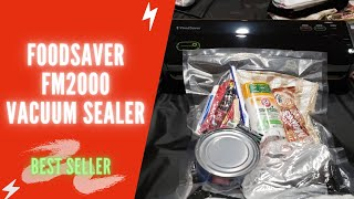 FoodSaver FM2000 Vacuum Sealer Review | FoodSaver Vacuum Sealer Machine How to Use | Food Sealer