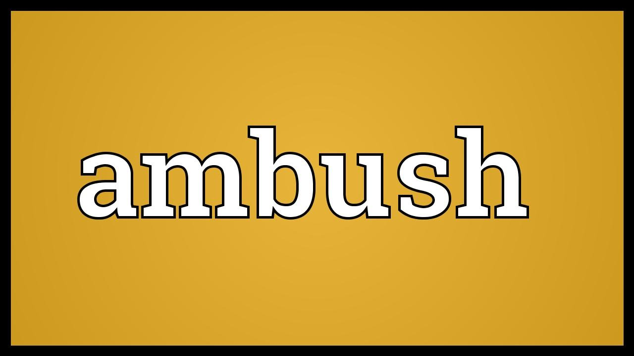 Ambush Meaning