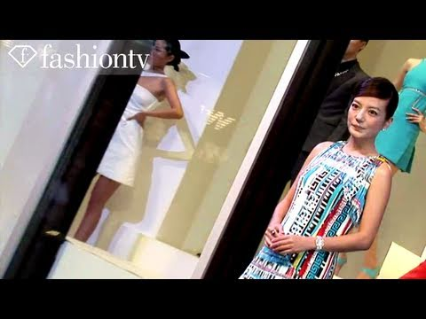 Versace New Collection Party ft Vicki Zhao, Beijing Spring 2011 | FashionTV - FTV.com